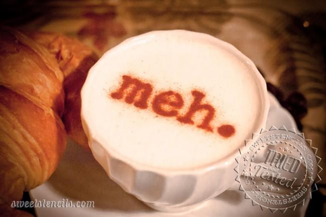 Coffee Stencils - Meh!