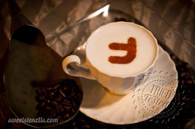 Coffee Stencils - Tweet Tweet!